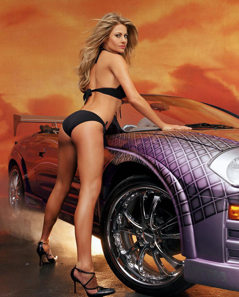 Hot Sexy Girls, Babes, Sexy Ladys With Sexy Cars, Pictures